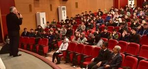 Ahlat'ta YGS'ye girecek öğrencilere seminer