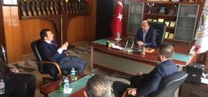 Milletvekili Çetinkaya'dan Mucur İlçe Belediye Başkanına ziyaret