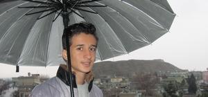 Yağmur duasına çıkılan arabanda, yağış sevinci