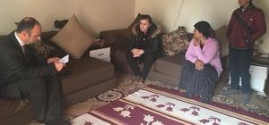 Tuşba Kaymakamı Meral Uçar'ın aile ziyaretleri devam ediyor