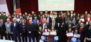 15 Temmuz'u en iyi anlatan öğrenciler ödüllendirildi