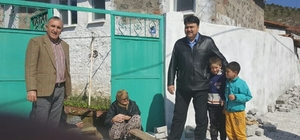 Başkan Ersoy Küçükşapçı'yı ziyaret etti.