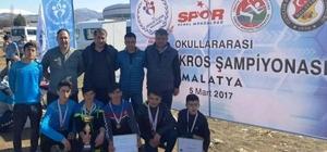 Erciş YBO öğrencilerinden Türkiye birinciliği