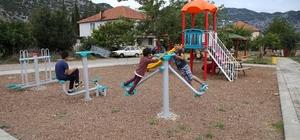 Döşemealtı Belediyesi'nden 8 yeni park