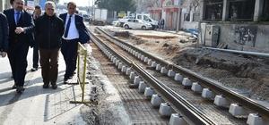 İzmir'deki tramvay hatlarındaki çalışmalar istenilen seviyede