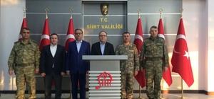 Şırnak Valisi Ali İhsan Su, Siirt'i ziyaret etti