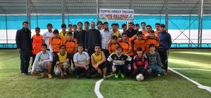 Siverek'te liseler arası kardeşlik turnuvası düzenlendi