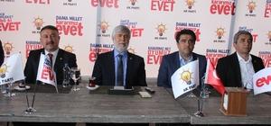 AK Parti Milletvekilleri, Mersin basınına anayasa değişikliği paketini anlattı