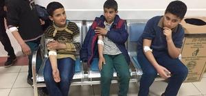 Kozluk'ta 34 öğrenci kusma şikayetiyle hastaneye kaldırıldı