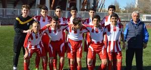 U14 Futbol Takımı play off liginde ilk galibiyetini aldı