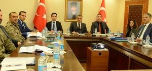 Tunceli'de seçim güvenliği toplantısı yapıldı