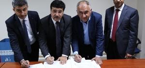 Tekstil İhtisas OSB'de devir gerçekleşti