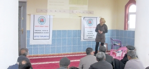Besni Ziraat Odası tarafından eğitim seminerleri düzenlendi