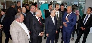 Bakan Kılıç, Tekkeköy Belediyesi yeni hizmet binasını gezdi