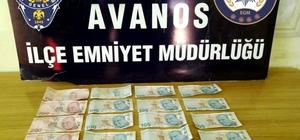 Avanos'ta piyasaya sahte para süren 2 kişi yakalandı