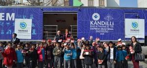 Deprem Haftası kapsamında öğrencilere eğitim verildi