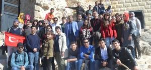 Üniversiteli öğrenciler Feke'yi gezdi