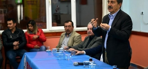 Başkan Ataç ziyaretlerini sürdürüyor