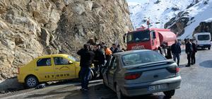 Bitlis'te trafik kazası: 1 ölü, 6 yaralı