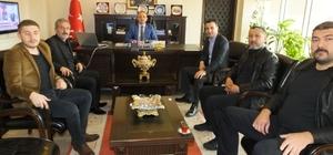 Balyalı Başkan Kılıç Kaymakam Öner'i ziyaret etti