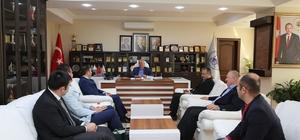 Yeşilay Sakarya Şubesinden Başkan Dişli'ye ziyaret