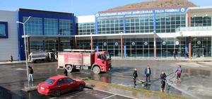 Akdağmadeni Belediyesi bahar temizliğine başladı