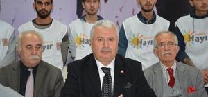 """CHP İl Başkanı Şahin:""""Bu bir sistem değişikliği değil, rejim değişikliğidir"""""""