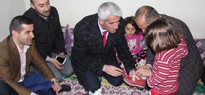 Şemdinli'de terör mağduru ailelere yardım