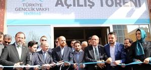 TÜGVA Tekirdağ İl Temsilciliği açıldı