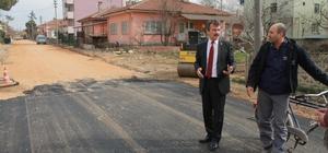 Yenişehir'de asfalt çalışmaları