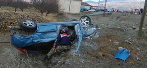 Otomobil patpat motoruna çarptı: 2 yaralı