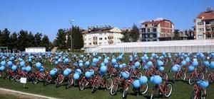 Kamuda evrak işlerinde bisikletli dönem