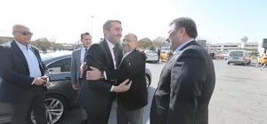 AK Parti İstanbul İl Başkanı Temurci'den Taksiciler Kooperatifi ve Bahçelievler SKM'ye ziyaret