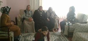 AK Partili kadınlardan engellilere ziyaret