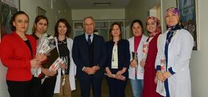 Başkan Acar'dan, kadın personele 8 Mart sürprizi