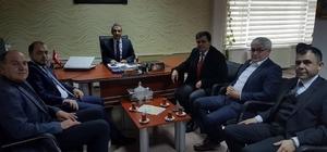 Başkan Muzaffer Yalçın, ilçenin enerji yatırımları hakkında bilgi aldı