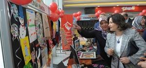8 Mart Dünya Kadınlar Gününde el işi sergisi açıldı