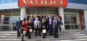 """Yabancı konuklar """"Avrupa hatıraları"""" için Kırşehir'e geldi"""