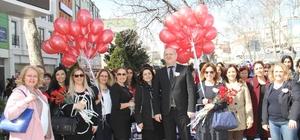 8 Mart Kadınlar Günü Kartal'da kutlandı