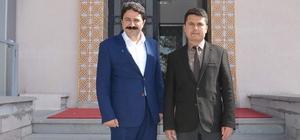 Başkan Kalın'dan Kaymakam Cankaloğlu'na hayırlı olsun ziyareti