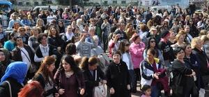 8 Mart Dünya Kadınlar Günü'nde kadınlar Maltepe'de eğlendi