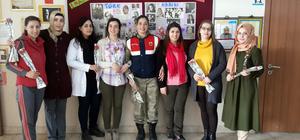 Jandarma, 8 Mart Dünya Kadınlar Günü'nü unutmadı