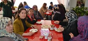 Bozyazılı kadınlara Kadınlar Günü'nde keşkek ikramı