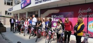 Mezitli Belediyesi'nden 8 Mart'ta 8 kadına 8 bisiklet, kadın personele yarım gün izin
