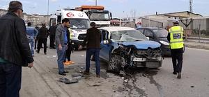 Karabük'te trafik kazası: 2 yaralı
