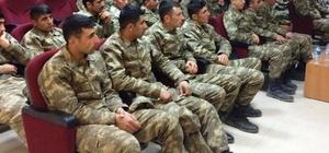 Yeni Koruculara askeri eğitim