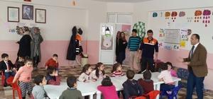 Afad'ın okullardaki afet bilinci eğitimlerimiz devam ediyor
