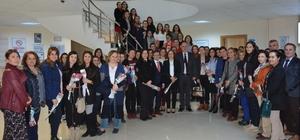 TESKİ Genel Müdürü Kadınlar Gününü kutladı