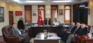 Vergi Daire Başkanı Çelik'den Yılmazer'e ziyaret