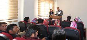Osmaniye'de safran yetiştiriciliği eğitimi